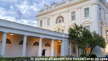 USA Washington Weißes Haus Rosengarten