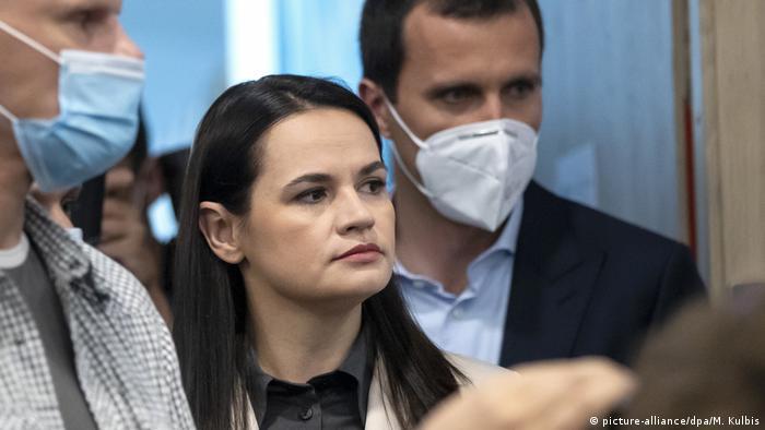 Светлана Тихановская, экс-кандидат в президенты, лидер белорусской оппозиции
