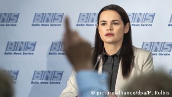 Светлана Тихановская, бывший кандидат в президенты Беларуси
