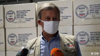 Mosambik | John Larsen, Repräsentant von USAID in Mosambik