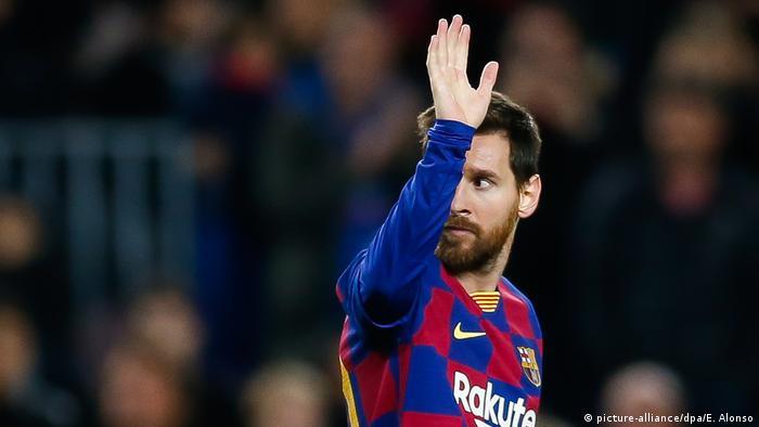 Sports |  FC Barcelona: Lionel Messi (photo-alliance / dpa / E. Alonso)