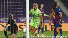 Fußball Frauen CL | VfL Wolfsburg - FC Barcelona | Tor (1:0)