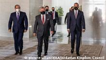 Jordanien Trilateraler Gipfel in Amman