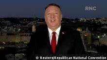 USA | Parteitag der Republikaner | Mike Pompeo Rede