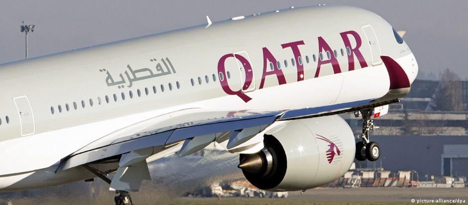 Frankreich | Airbus von Qatar Airways (picture-alliance/dpa)