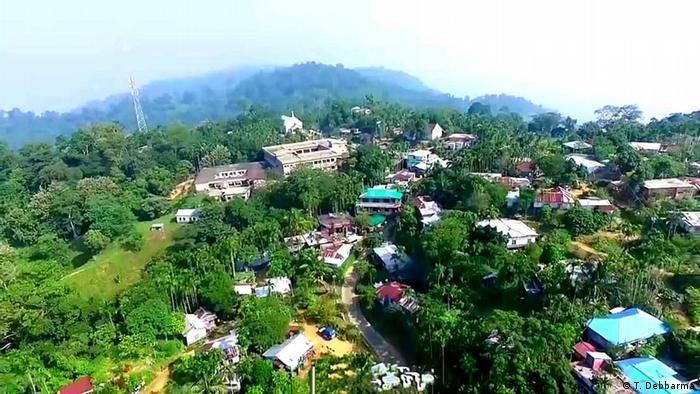 Indien Agartala   Grenzstreit Tripura - Mizoram