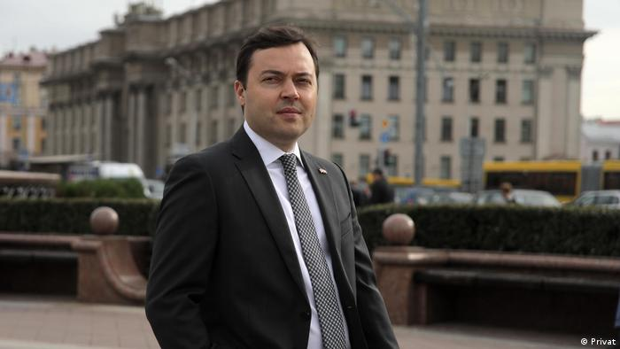 Колишній білоруський дипломат Павло Мацукевич