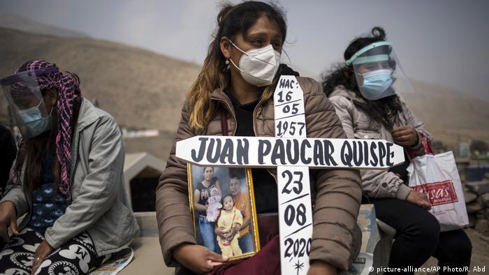 Peru Lima Coronavirus | Friedhof