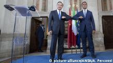 Italien, Rom I Wang Yi und Luigi Di Maio