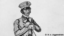 Йозеф Наус (Joseph Naus) на рисунке 1824 года