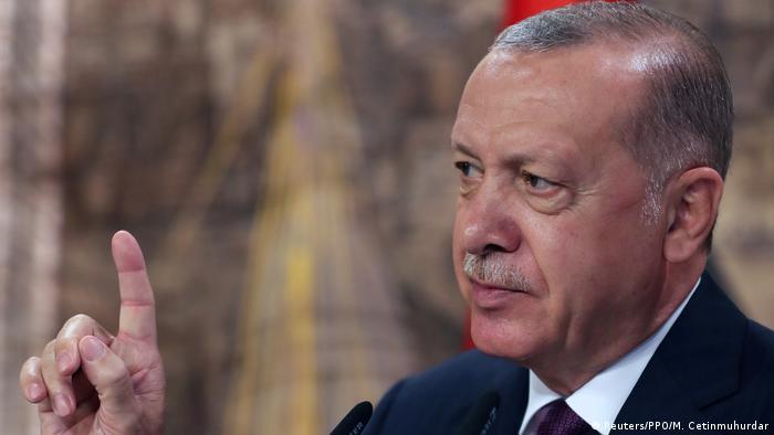 Türkei Istanbul |Recep Tayyip Erdogan, Präsident (Reuters/PPO/M. Cetinmuhurdar)
