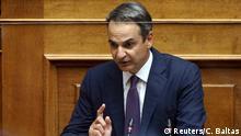 Griechenland Athen Parlament |Kyriakos Mitsotakis, Premierminister