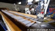Deutschland Illegale Zigarettenfabrik bei Kleve ausgehoben