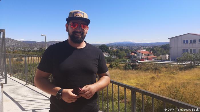 Kroatien   Deutsche Touristen: Oliver Rockelmann (DW/N. Tomasovic Bock)