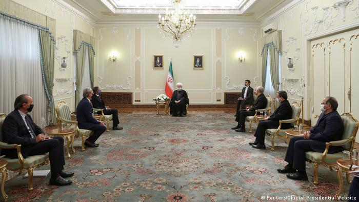 Зустріч гендиректора МАГАТЕ Рафаеля Маріано Гроссі з віцепрезидентом Ірану, главою організації з атомної енергії Ірану Алі Акбаром Салехі