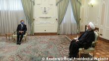 Iran Atomenergie |Verhandlungen IAEA |Rafael Grossi & Hassan Rohani, Präsident