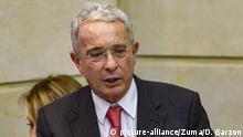 Kolumbien Bogota 2019 |Alvaro Uribe, ehemaliger Präsident