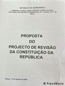 Guinea-Bissau Bissau |Kommission - Verfassung