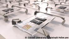 Pressebild Cornell University: Optobot Armee © Cornell University/Christoph Hohmann