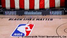 USA Basketball Boycott in der NBA Milwaukee Bucks - Orlando Magic