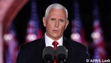 Vize-Präsident Mike Pence Rede bei Parteitag Republikaner