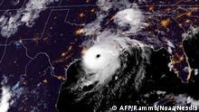 USA Satellitenbild Hurrikan Laura