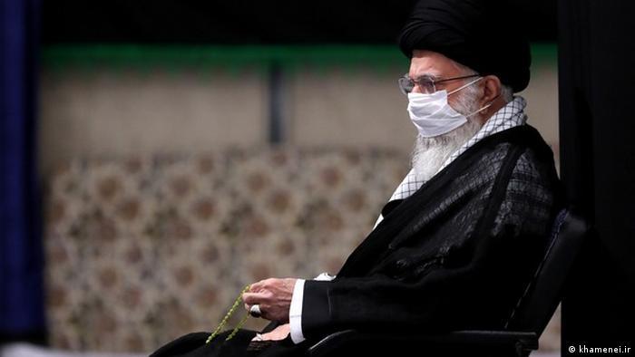 Iran Ali Khamenei bei Muharram-Trauerfeier