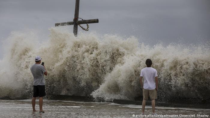 USA Texas | Vorbereitungen auf Hurrikan Laura (picture-alliance/dpa/Houston Chronicle/J. Shapley)