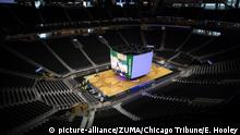 August 26, 2020: The NBA announced it will postpone Game 5 of three different series in response to the Milwaukee Bucks decision to boycott their playoff game following the police shooting of Jacob Blake in the team's home state of Wisconsin. Blake, a Black man, was shot in the back by police on Sunday as he tried to enter his vehicle in Kenosha, Wisconsin. His shooting became the latest incident to prompt outrage nationwide over racial injustice and police brutality. NBA said in a statement 'Game 5 of each series will be rescheduled.' FILE PICTURE SHOT ON: June 26, 2018, Milwaukee, Wisconsin, USA: Construction at the Milwaukee Bucks' arena. (Credit Image: © Erin Hooley/Chicago Tribune/TNS via ZUMA Wire |