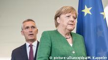 Deutschland Berlin Kanzlerin Merkel trifft Nato Generalsekretär Stoltenberg