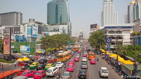 Bangkok city traffic