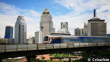 Thailand Skytrain in Bangkok