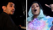 Der Pianist Aeham Ahmad und die Rapperin Nura Habib Omer