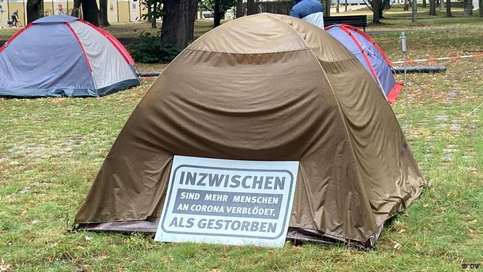Berlin Querdenker Campingplatz