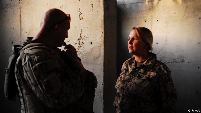 Dunja Neukam - ehemalige Bundeswehr-Soldatin im Afghanistan-Einsatz