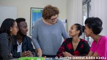27.8.2020, Addis Abeba, Äthiopien, Goethe-Institut Addis Ababa hat uns /DW/ erlaubt die Bilder zu benutzen, Aussenansicht des Goethe-Instituts // Redaktion: Azeb-Tadesse Hahn