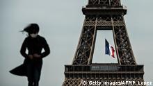 Frankreich I Paris I Eiffelturm I Coronavirus