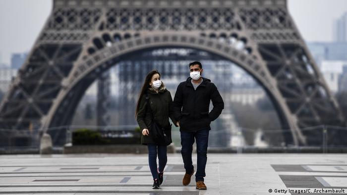 France I Paris I Eiffel tower I Coronavirus