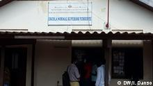 Guinea-Bissau | Eingang Hochschule Tchico Te