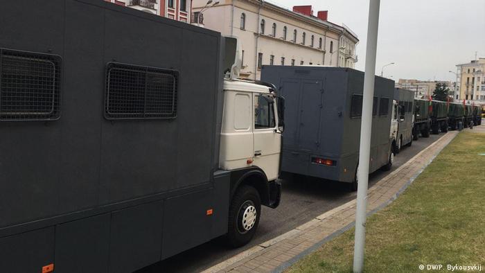 Weißrussland | Anti-Regierungsproteste | Avtozaki (DW/P. Bykousvkij)