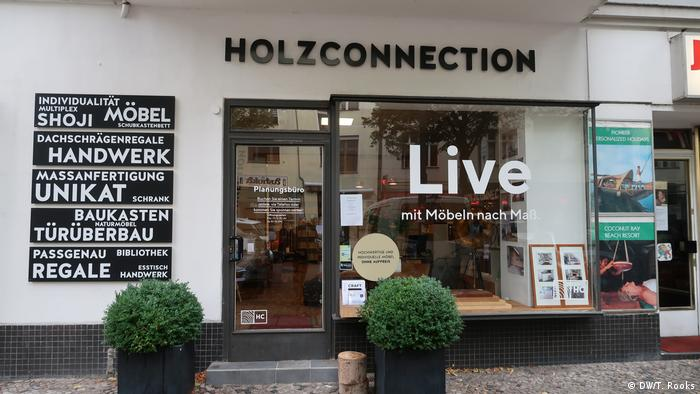 Holzconnection I Möbelladen in Berlin Charlottenburg