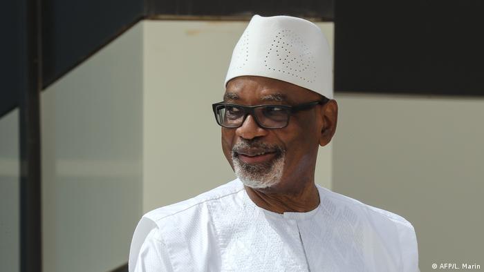 Mali Ibrahim Boubacar Keita (AFP/L. Marin)