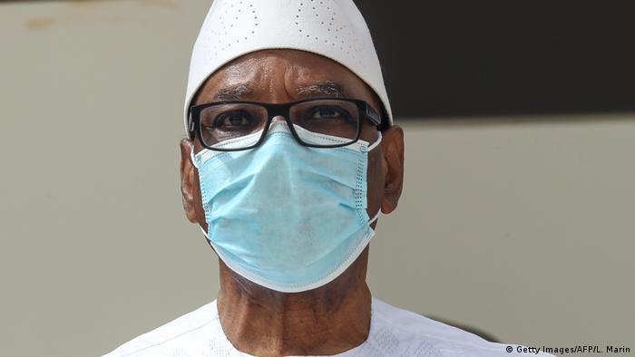 Mali Ibrahim Boubacar Keita (Getty Images/AFP/L. Marin)