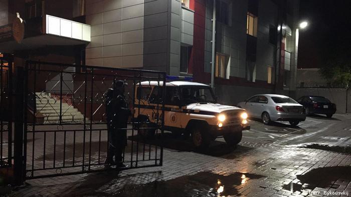Belarus Festnahmen von Journalisten in Minsk (DW/P. Bykousvkij)