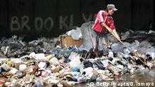 Indonesien Plastikmüll