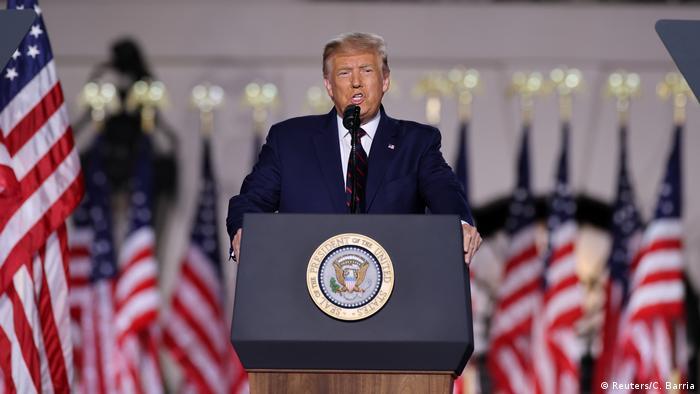 USA Nominierungsparteitag der Republikaner | Donald Trump (Reuters/C. Barria)