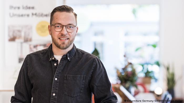 Holzconnection Geschäftsfrührer Denys Nagel