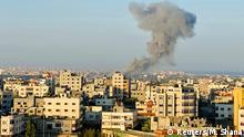 Gaza Streifen | Rauchwolke nach Luftangriff der Israelis