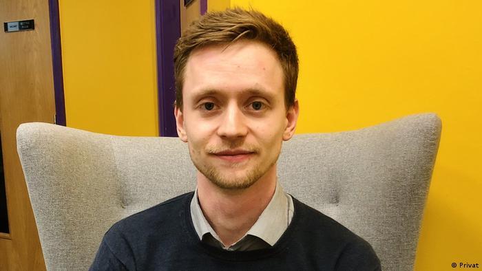 Daniel Haid, the German student ambassador in the UK (Privat)