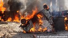 Indien Neu-Delhi gewaltsame Proteste gegen Bürgerschaftsgesetz CAA